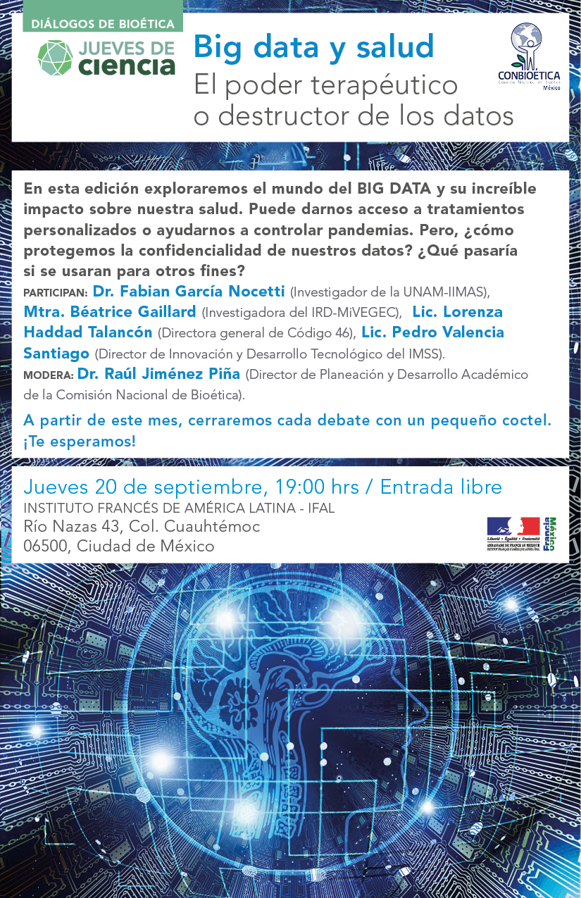 Big Data Y Salud Invitació N V4